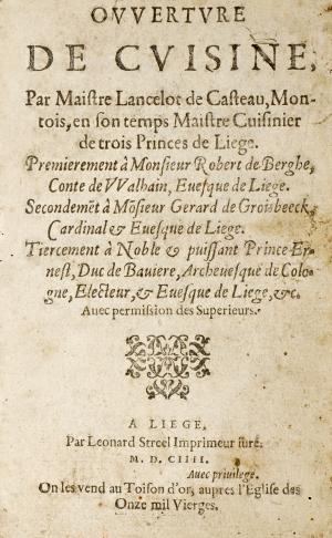 Culture le magazine culturel de l universit de li ge dossier histoire de recettes - Histoire des recettes de cuisine ...